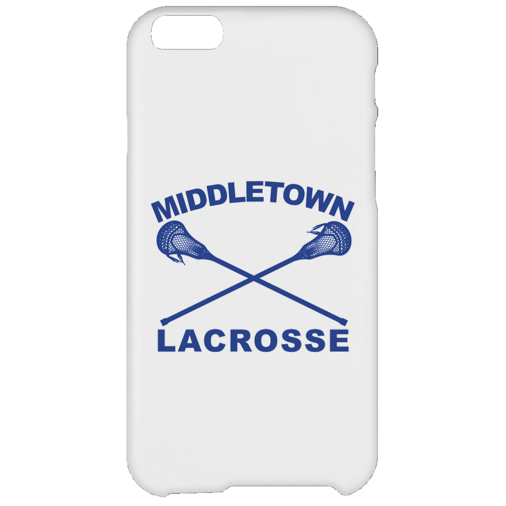 iPhone 6 Plus Case - Middletown Girls Lacrosse - Sticks Logo