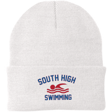 Knit Winter Hat - South Glens Falls Swimming