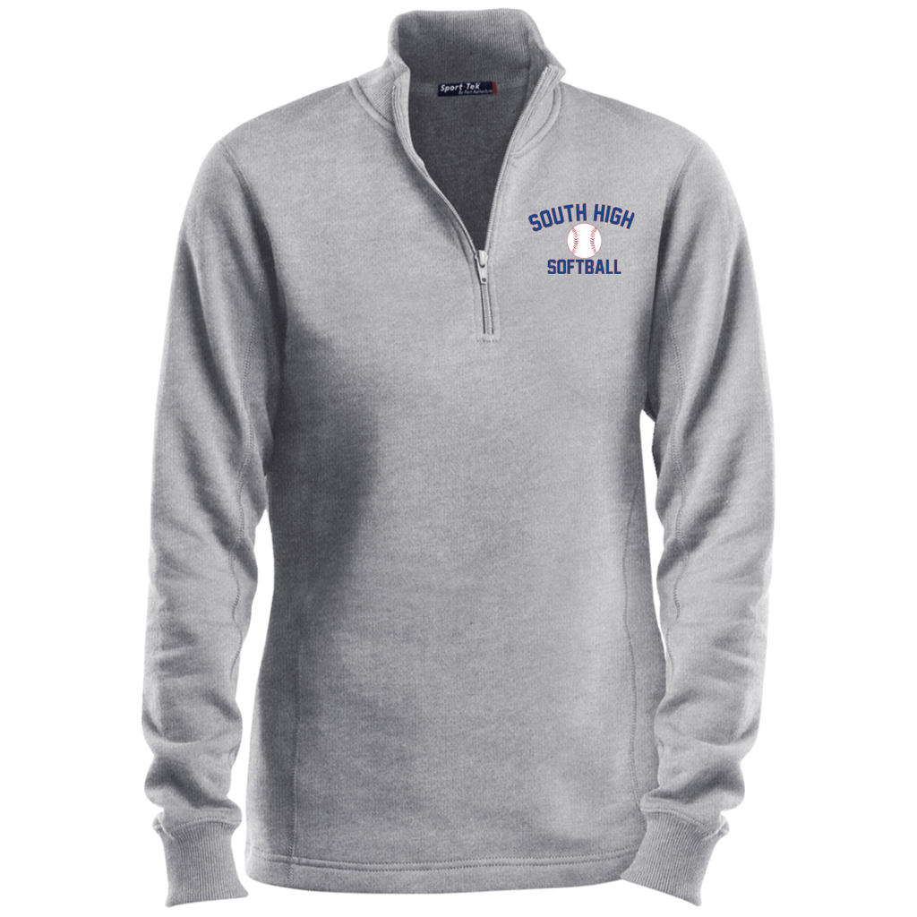 Women's Quarter Zip Sweatshirt - South Glens Falls Softball