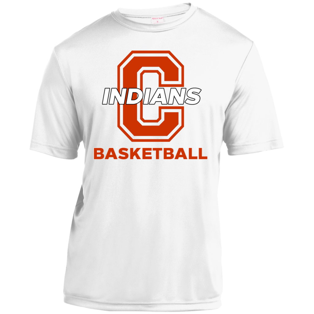Youth Moisture Wicking T-Shirt - Cambridge Basketball - C Logo
