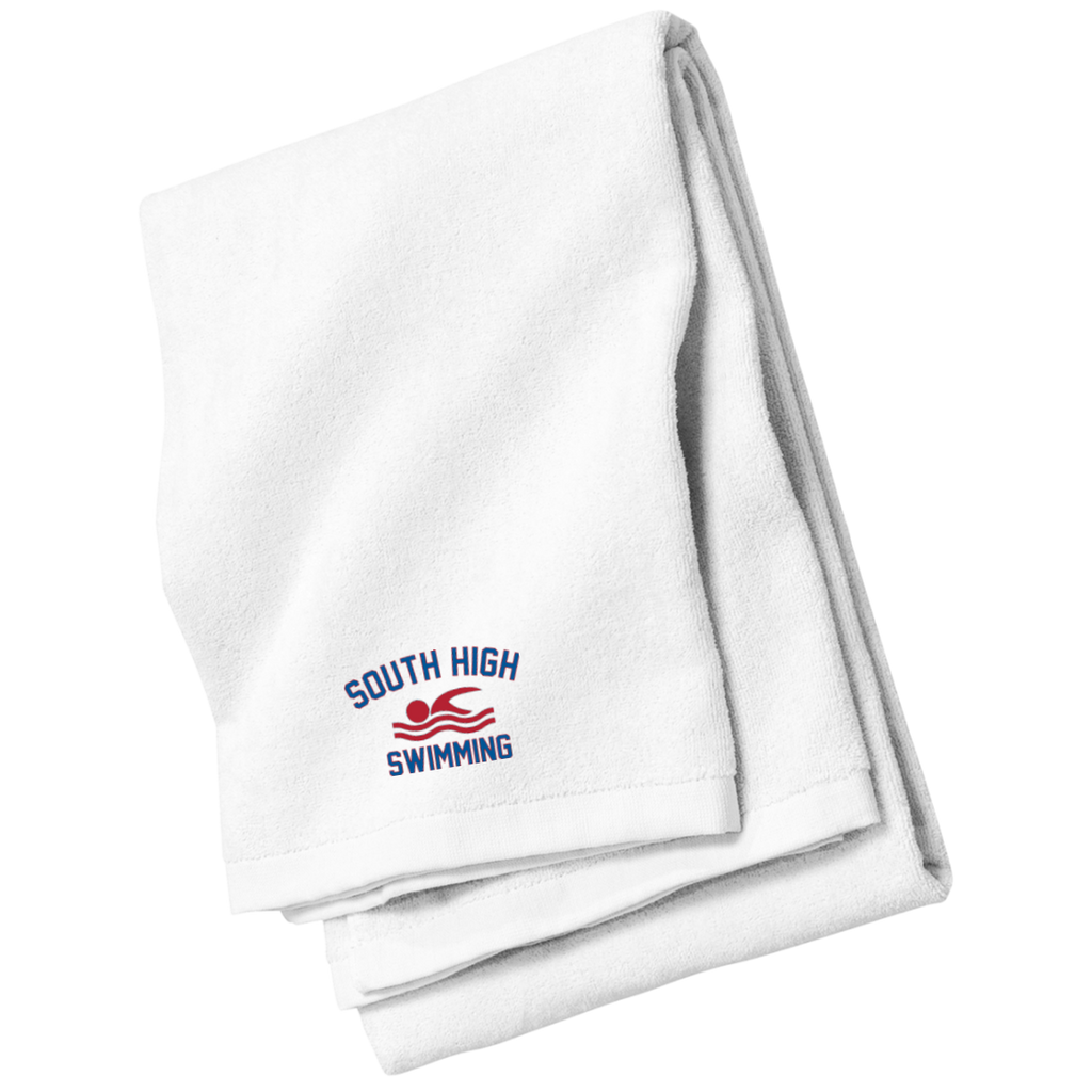 Beach Towel - South Glens Falls Swimming