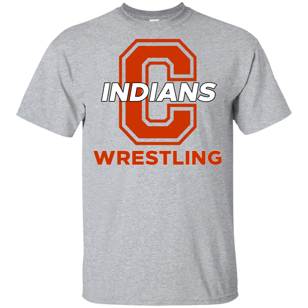 Youth Cotton T-Shirt - Cambridge Wrestling - C Logo