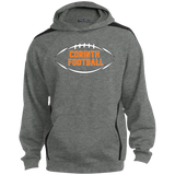 Colorblock Hooded Sweatshirt - Corinth Football