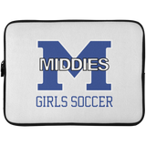 Laptop Sleeve - 15 Inch - Middletown Middie Girls Soccer
