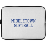 Laptop Sleeve - 15 Inch - Middletown Softball - Block Logo