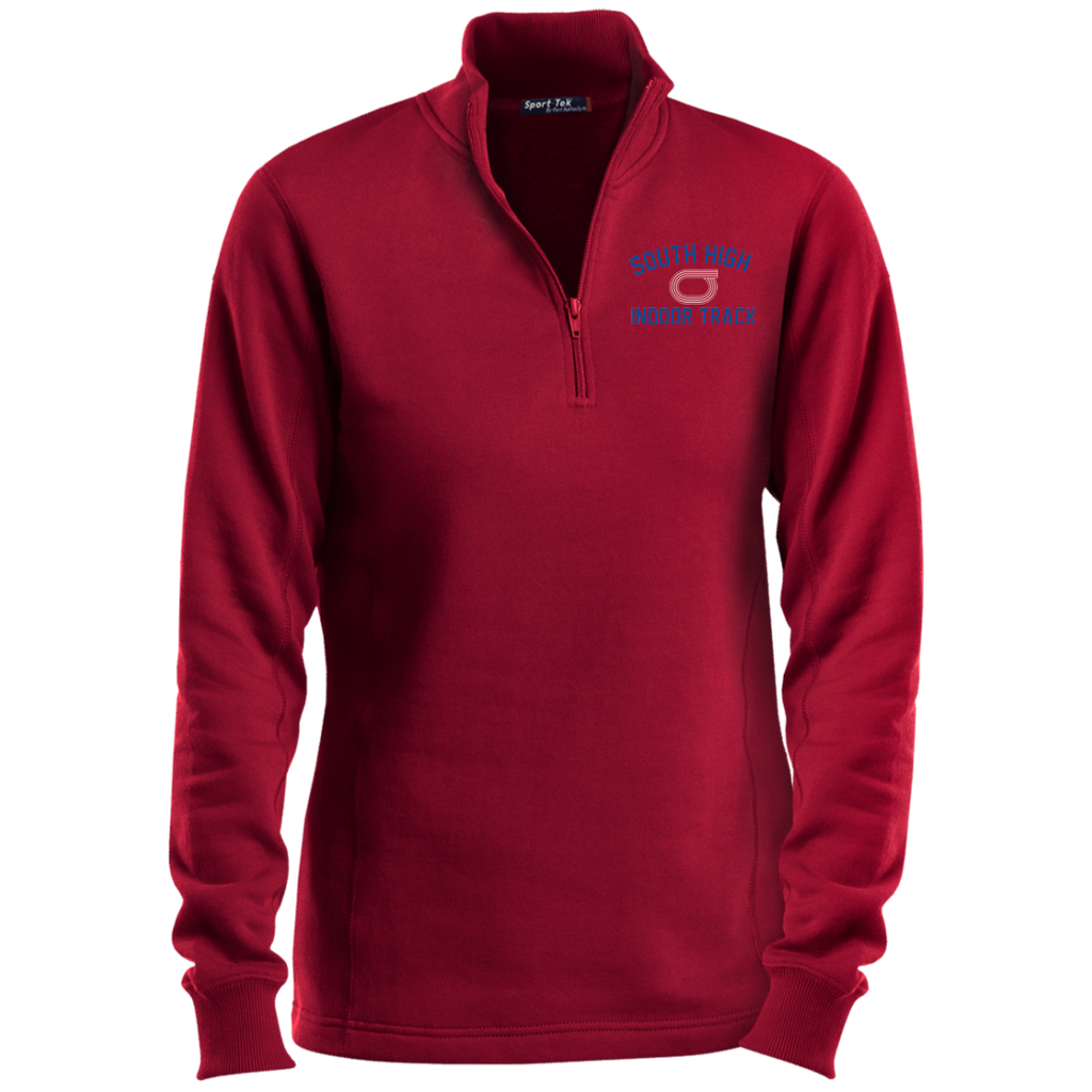 Women's Quarter Zip Sweatshirt - South Glens Falls Indoor Track
