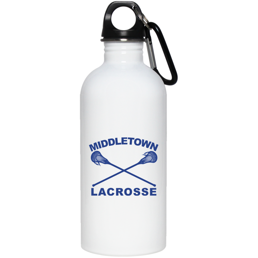 Water Bottle - Middletown Girls Lacrosse - Sticks Logo