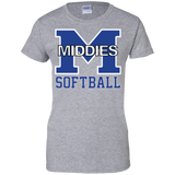 Women's Cotton T-Shirt - Middletown Softball