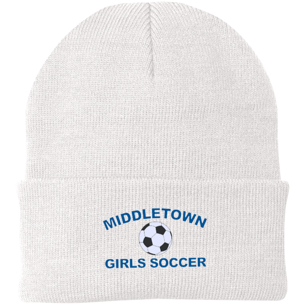 Knit Winter Hat - Middletown Girls Soccer
