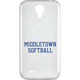 Samsung Galaxy 4 Case - Middletown Softball - Block Logo