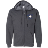 Men's Full-Zip Hooded Sweatshirt - South Glens Falls Baseball