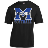 Youth Moisture Wicking T-Shirt - Middletown Softball