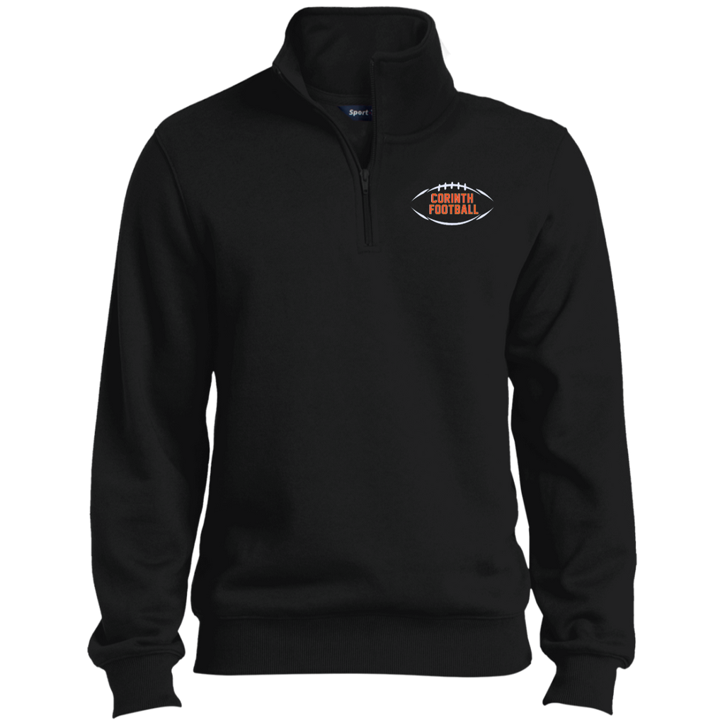 Men's Quarter Zip Sweatshirt - Corinth Football