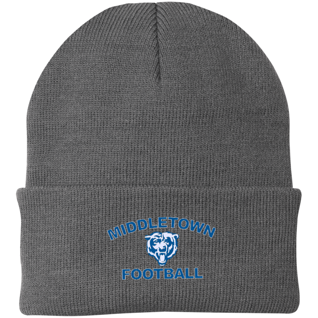 Knit Winter Hat - Middletown Football