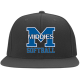 Flex Fit Twill Hat w/ Flat Bill - Middletown Softball