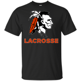 Youth Cotton T-Shirt - Cambridge Lacrosse - Indian Logo