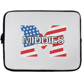 Laptop Sleeve - 13 inch - Middletown American Flag