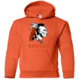 Youth Hooded Sweatshirt - Cambridge Soccer - Indian Logo