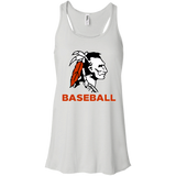 Women's Racerback Tank Top - Cambridge Baseball - Indian Logo