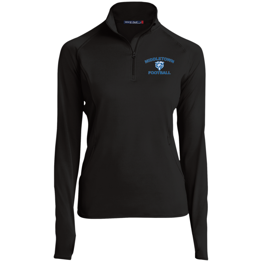 Women's Performance Quarter Zip Sweatshirt - Middletown Football