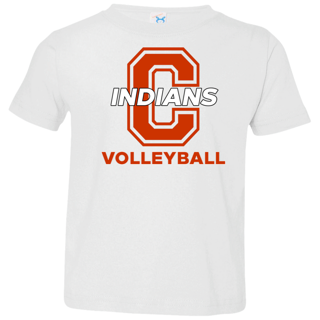 Toddler T-Shirt - Cambridge Volleyball - C Logo