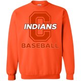 Crewneck Sweatshirt - Cambridge Baseball - C Logo