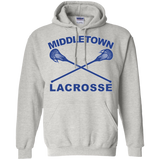 Men's Hooded Sweatshirt - Middletown Girls Lacrosse - Sticks Logo