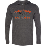 Men's T-Shirt Hoodie - Cambridge Lacrosse