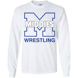 Youth Long Sleeve T-Shirt - Middletown Wrestling
