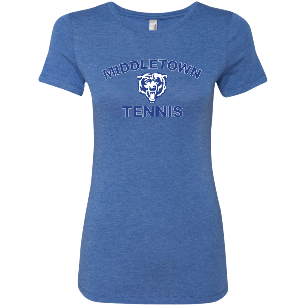 Women's Premium T-Shirt - Middletown Tennis - Bear Logo