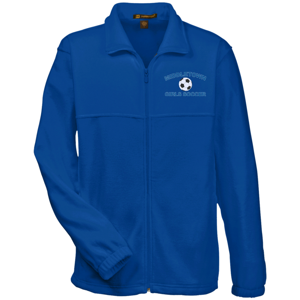 Men's Full-Zip Fleece - Middletown Girls Soccer