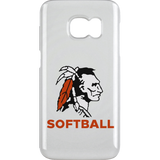 Samsung Galaxy S6 Clip - Cambridge Softball - Indian Logo