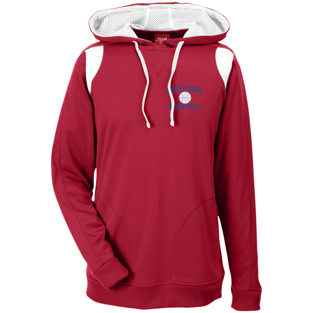 Men's Colorblock Hooded Sweatshirt - South Glens Falls Basketball