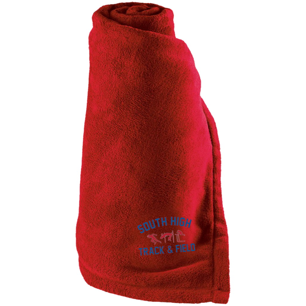 Large Fleece Blanket - South Glens Falls Track & Field