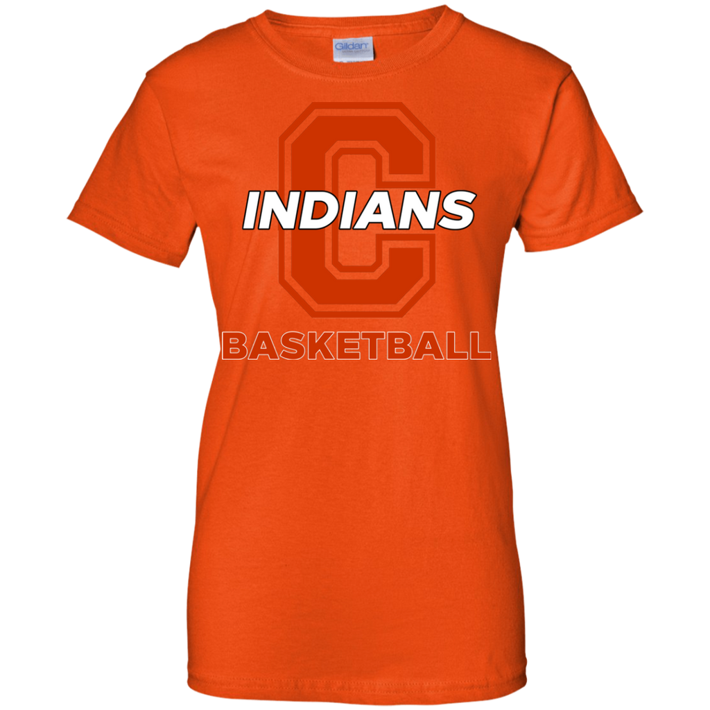 Women's Cotton T-Shirt - Cambridge Basketball - C Logo