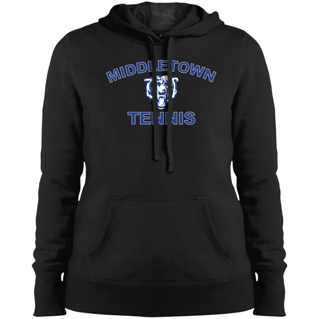 Women's Hooded Sweatshirt - Middletown Tennis - Bear Logo