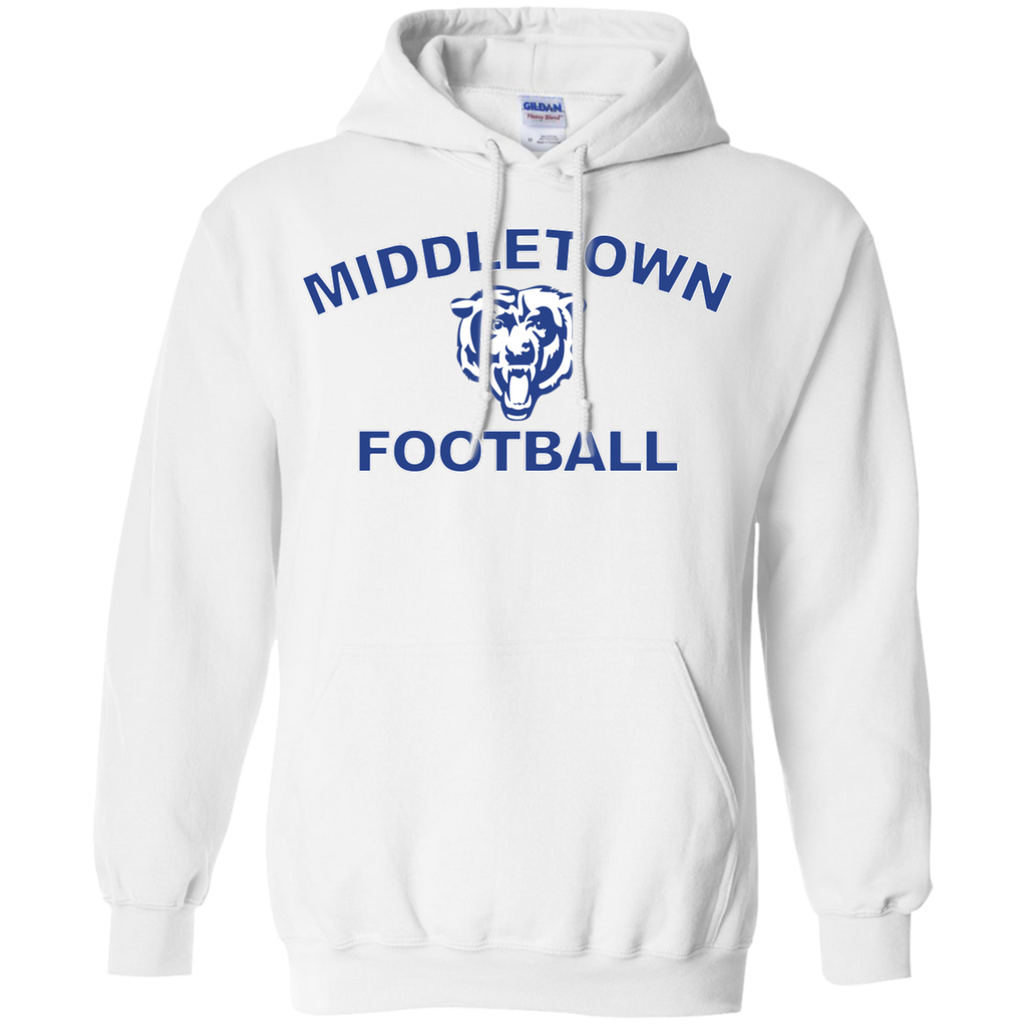 Men's Hooded Sweatshirt - Middletown Football