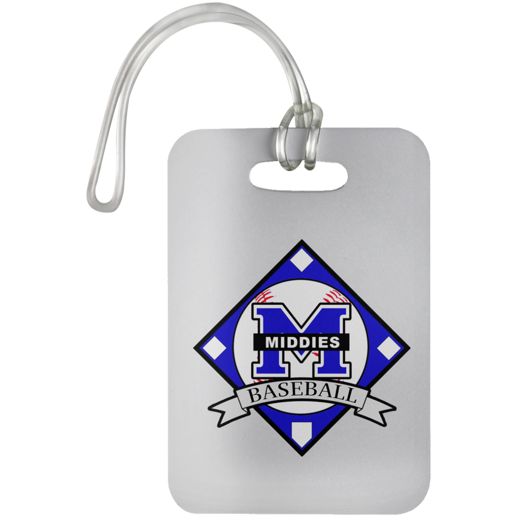 Luggage Bag Tag - Middletown Baseball - Diamond Logo