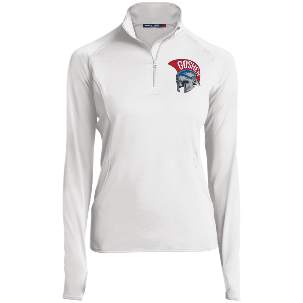 Women's Performance Quarter Zip Sweatshirt - Goshen Helmet
