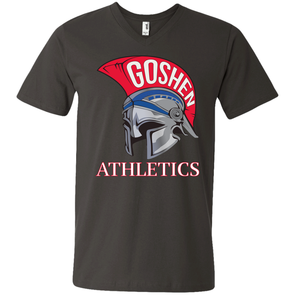 Men's V-Neck T-Shirt - Goshen Athletics