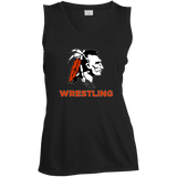 Women's Moisture Wicking Tank Top - Cambridge Wrestling - Indian Logo