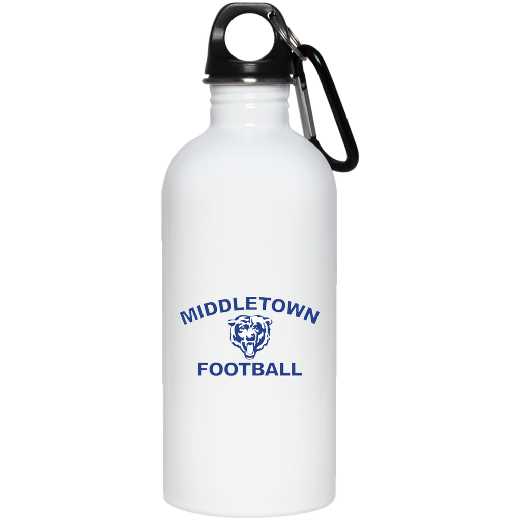 Water Bottle - Middletown Football