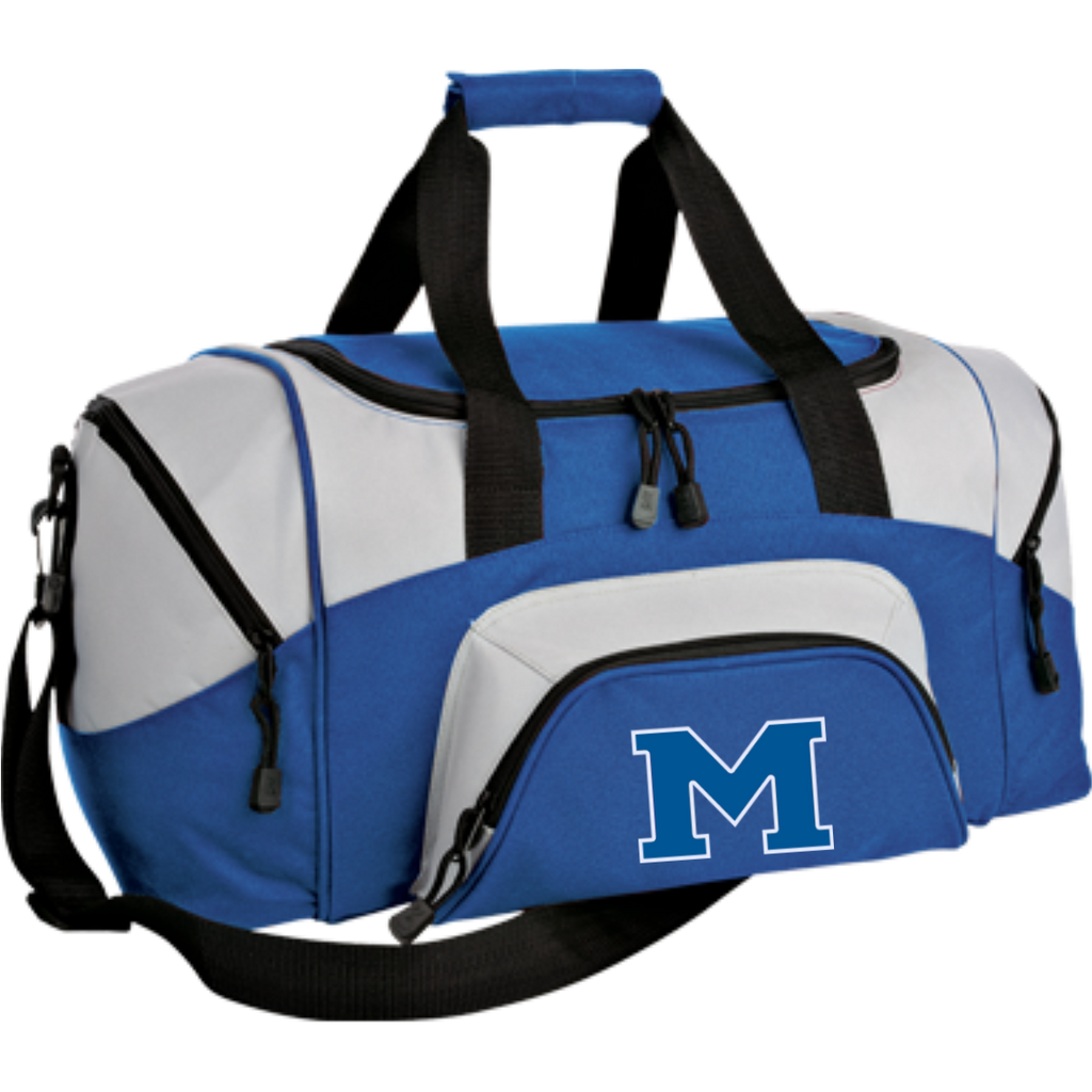 "Small Duffel Bag - Middletown Block ""M"""
