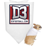 Doggie Bandana - D3Football.com
