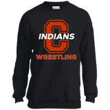 Youth Crewneck Sweatshirt - Cambridge Wrestling - C Logo
