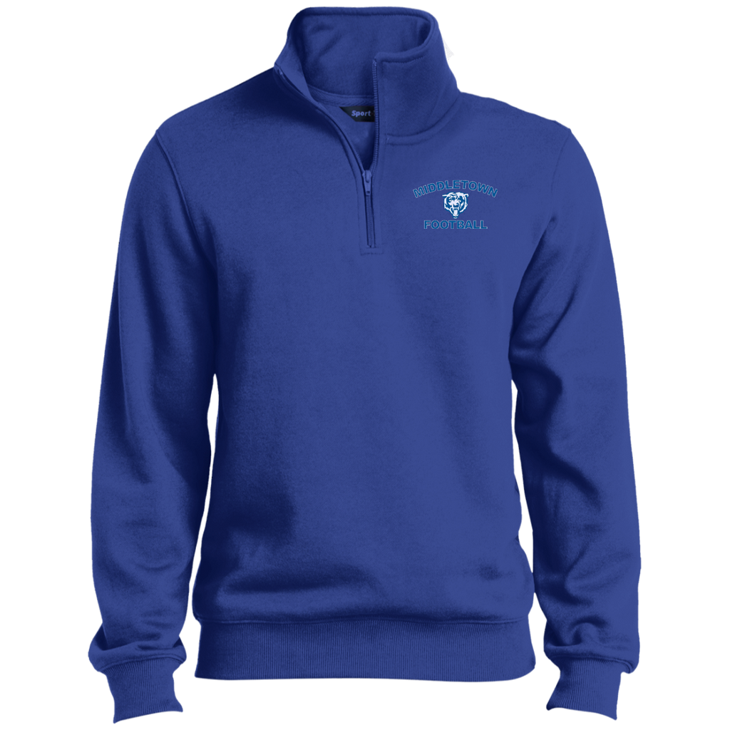 Men's Quarter Zip Sweatshirt - Middletown Football