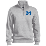 Men's Quarter Zip Sweatshirt - Middletown Block