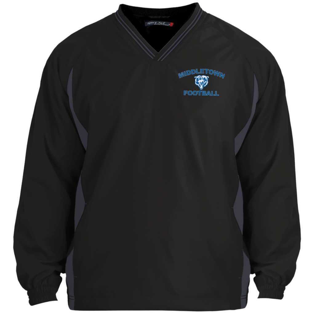 Colorblock V-Neck Pullover - Middletown Football
