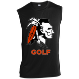 Sleeveless Performance T-Shirt - Cambridge Golf - Indian Logo