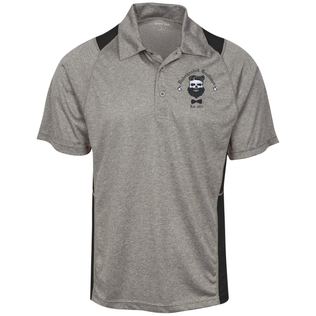 Heather Moisture Wicking Polo